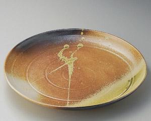 古信楽16.0丸皿