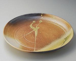 古信楽14.0丸皿