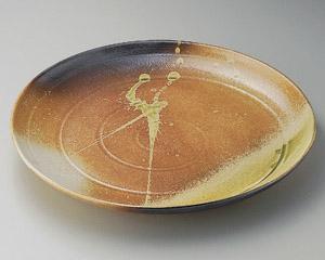 古信楽12.0丸皿