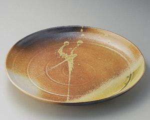 古信楽10.0丸皿