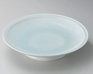 青白磁静流尺皿
