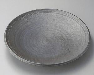 炭化ロクロ目13.0大皿