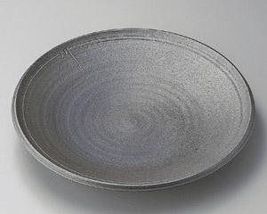 炭化ロクロ目11.0大皿