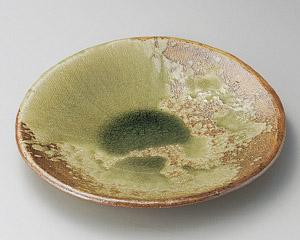 灰釉11.0丸皿