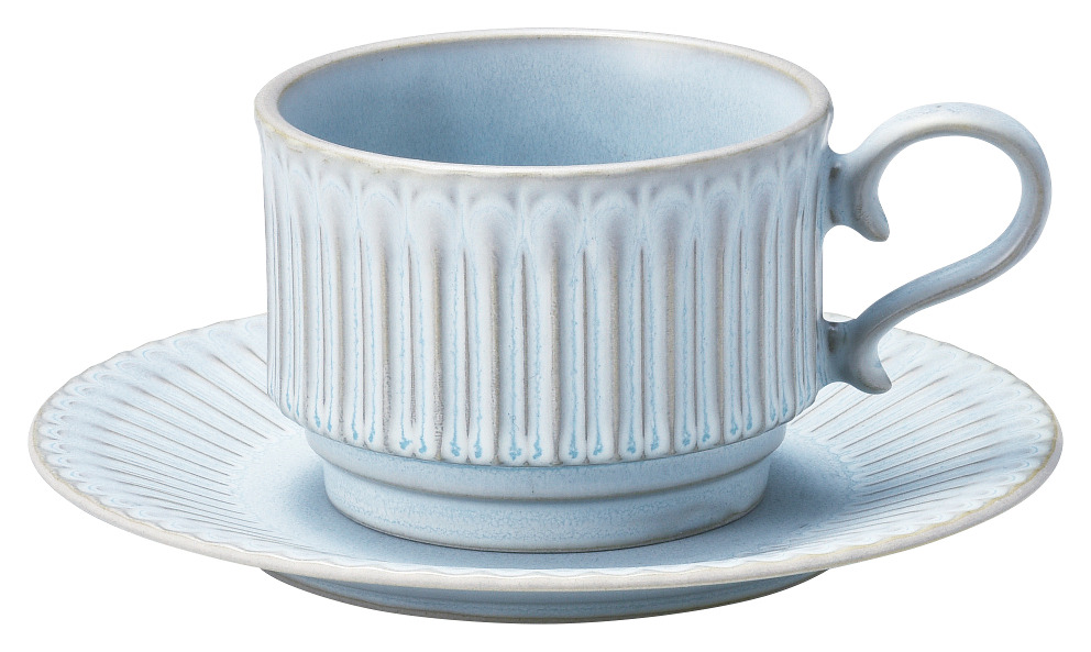 ストーリアシャビーブルースタックコーヒーカップのみ※ソーサーは別売り 画像