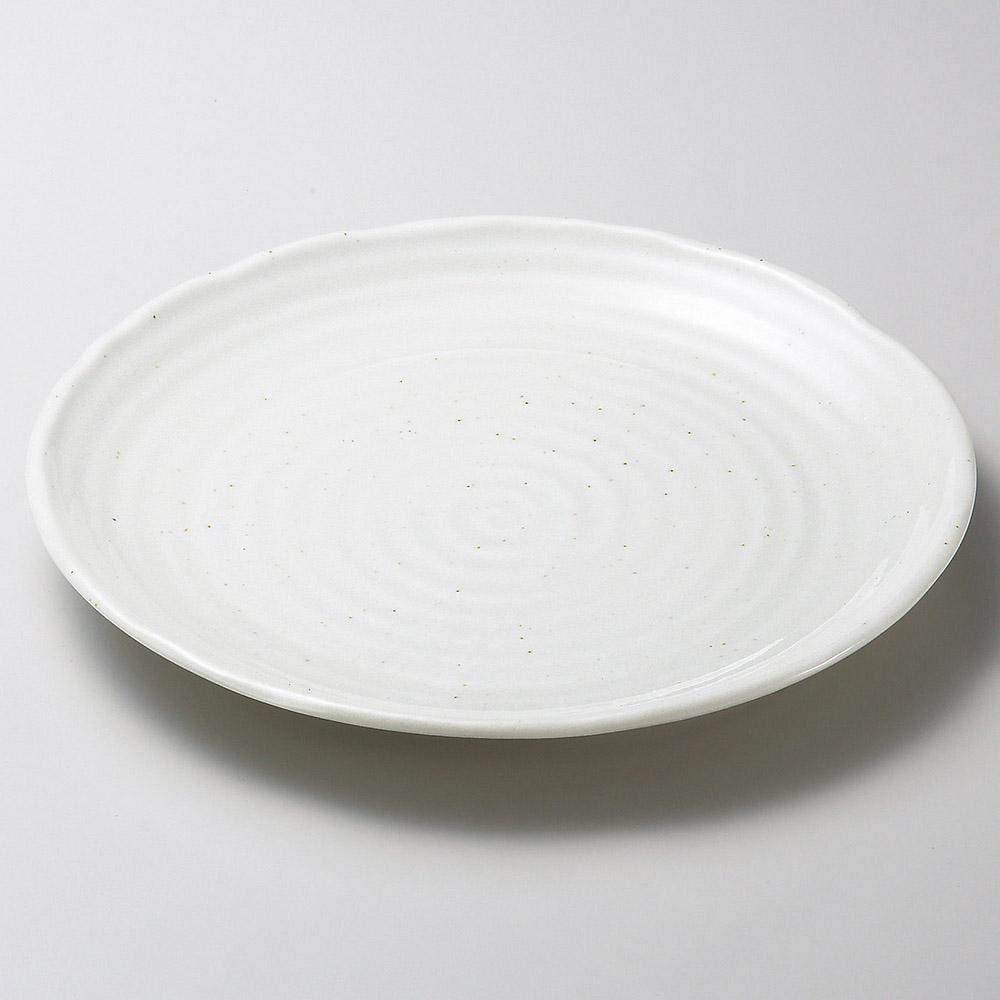 粉引釉9.7大皿