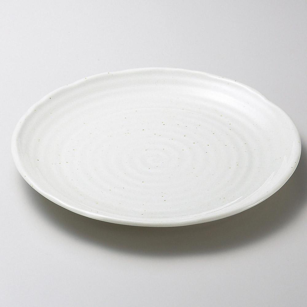 粉引釉8.0皿