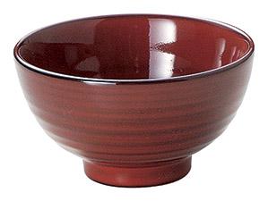 彩漆 11.5cm飯碗 画像1