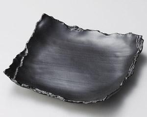 黒マット重ね8.5皿