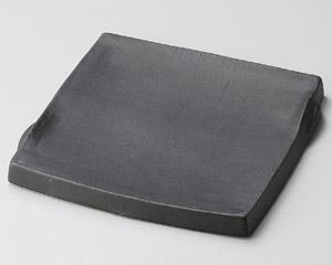 黒マットまな板角皿(大)