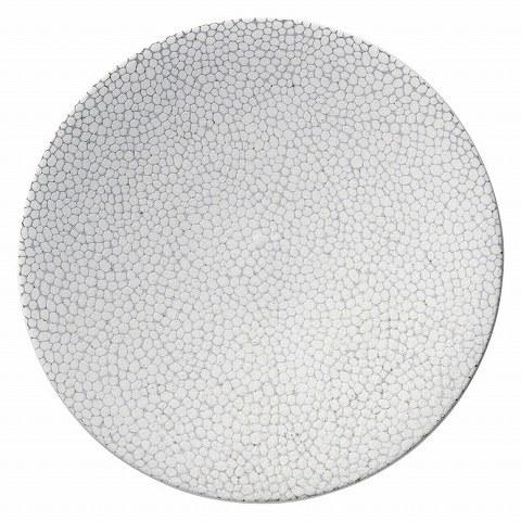 雪斑 27.5cm皿 画像