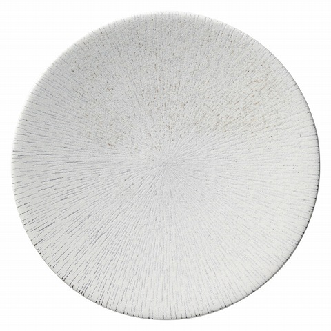 雪嵐 27.5cm皿 画像