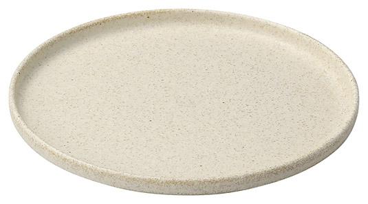 絹衣6.0丸浅口切立皿 画像