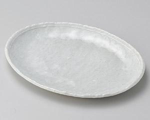 オフケ白ライン9.0小判皿
