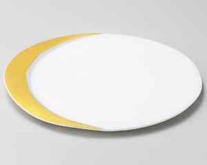ゴールドムーン27cm丸皿