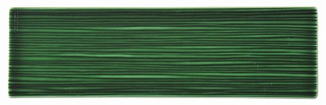 和粋 エバーグリーン 34cm線紋細平長角皿 画像