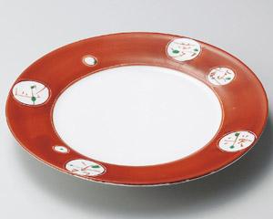 夢楽90丸皿