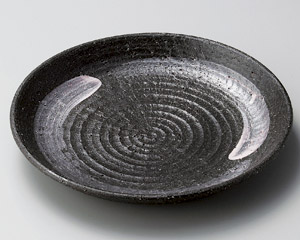 黒土白刷毛8.0皿