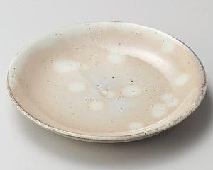 粉引丸7.0皿