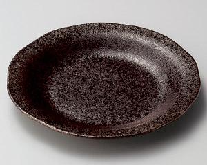 小豆釉24cm皿