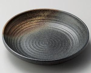 黒信楽9.0パスタ皿