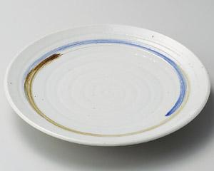 櫛目二色渦丸6.0皿