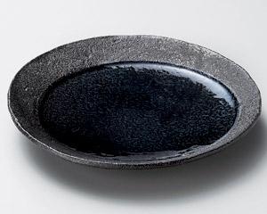 藍月光20cm丸皿