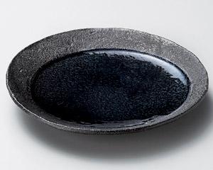 藍月光16cm丸皿