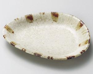 白砂錆十草三角取皿