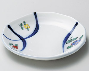 錦花紋フルーツ皿