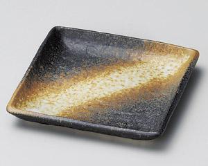 火だすき角小皿