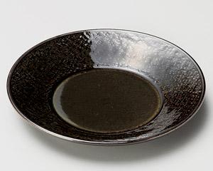 アメ織部石目5.0皿