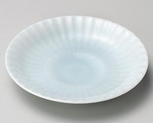 青白磁菊5.0皿