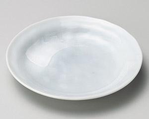 白刷毛青磁タタキ4.0皿