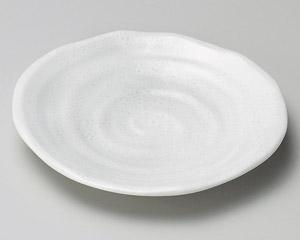 白備前松型4.8皿