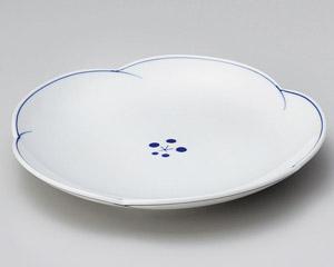 染付梅ライン5.5皿