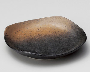 黒信楽4.0皿
