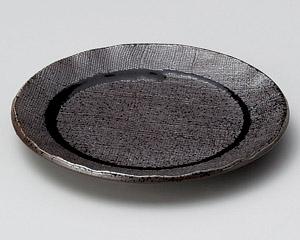 黒伊賀織部布目5.0皿