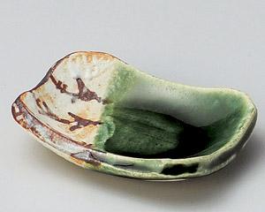 絵織部角小皿