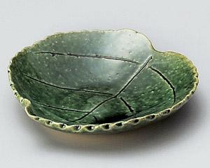織部木の葉皿
