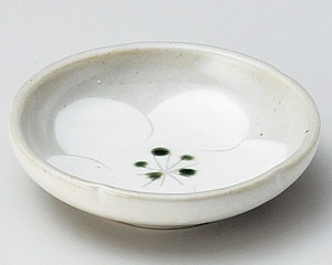 粉引梅小皿