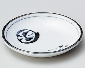 丸紋蝶3.6丸皿