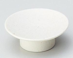 粉引高台小皿