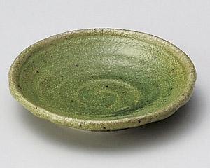 緑釉型入2.5皿