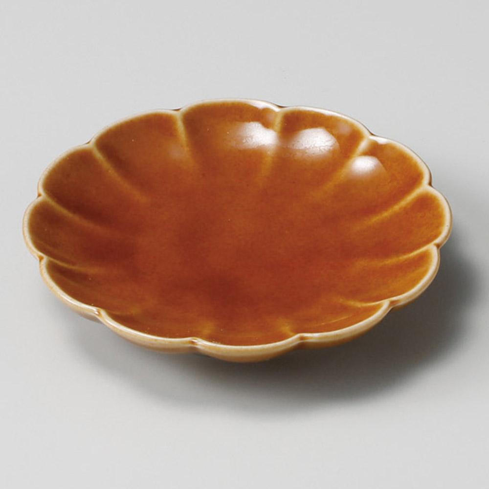 ブラウン丸リンカ小皿
