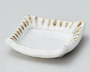 さび十草ミニ角小皿