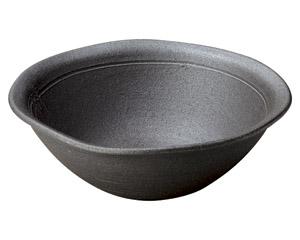 炭化窯変9.0大鉢