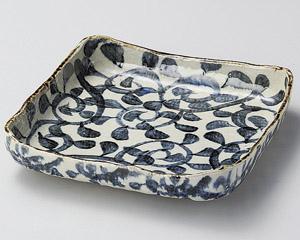 タコ唐草正角8.0盛鉢