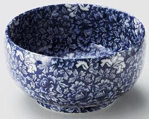 青牡丹大菓子鉢