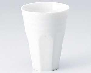 白磁軽量・削ぎけずりフリーカップ・特価(在庫66限り)